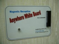 Flexible Magnetic Receptive White Boards